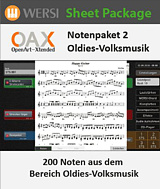 OAX Notenpaket 2, Oldies-Volksmusik